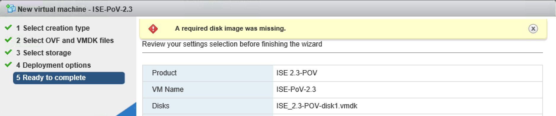 Deploy ISE PoV 2 3 OVA using ovftool | zartmann dk